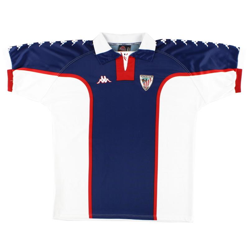 save off e3a83 f100e 1998-99 Atletico Bilbao Away Shirt XL for sale