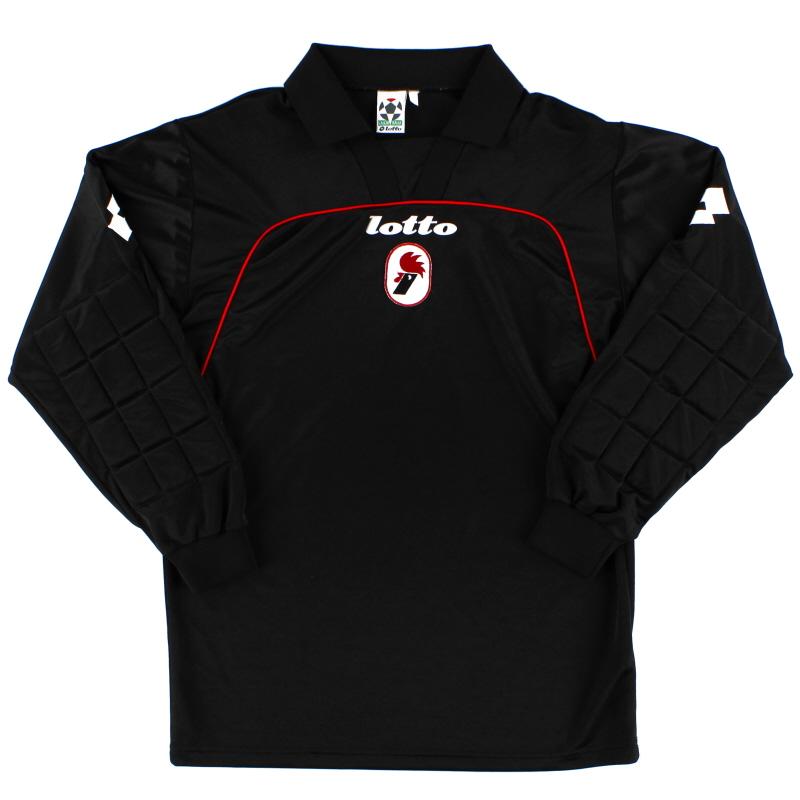 1998-99 Bari Goalkeeper Shirt *Mint* M
