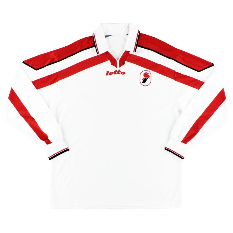 1998-99 Bari Home Shirt L/S L