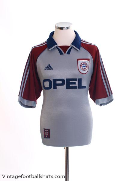 1998-99 Bayern Munich Champions League Shirt M