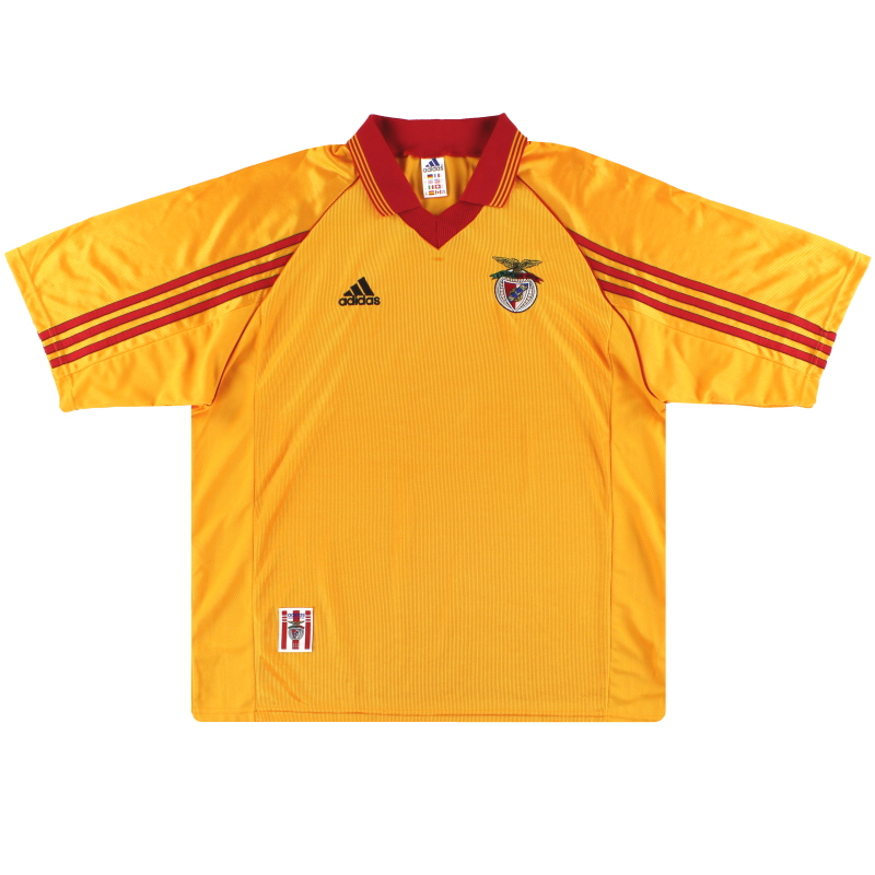 1998-99 Benfica adidas Away Shirt M