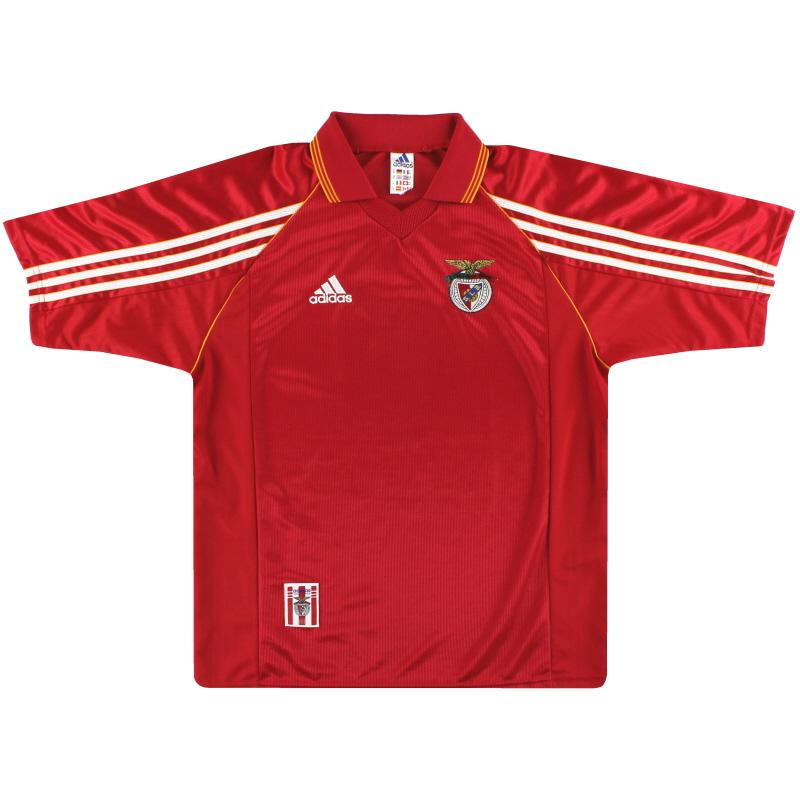 1998-99 Benfica adidas Home Shirt M