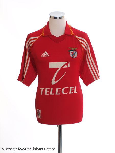 1998-99 Benfica Home Shirt M