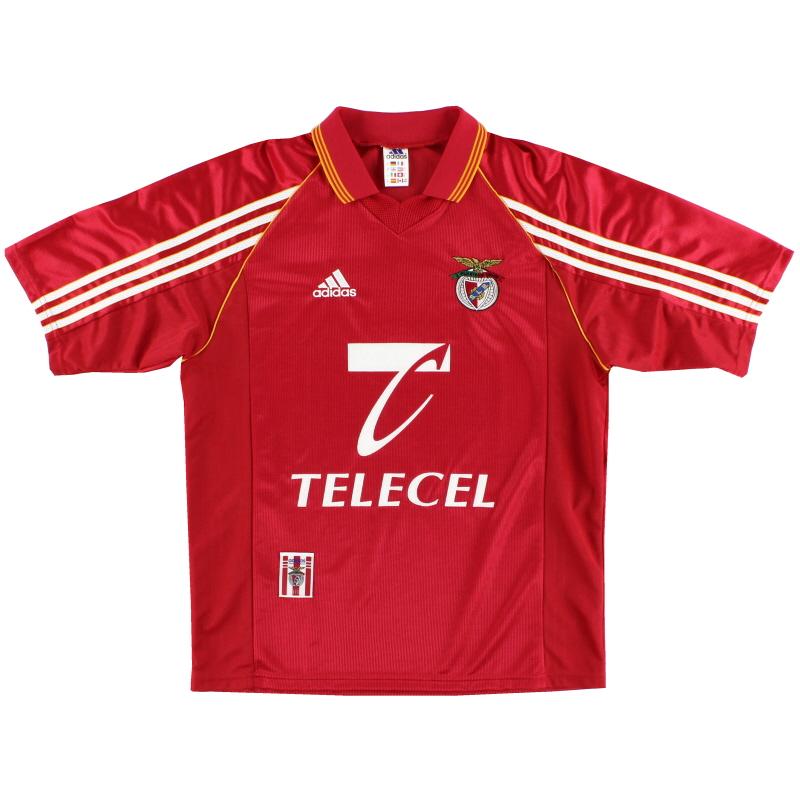 1998-99 Benfica Home Shirt *Mint* M
