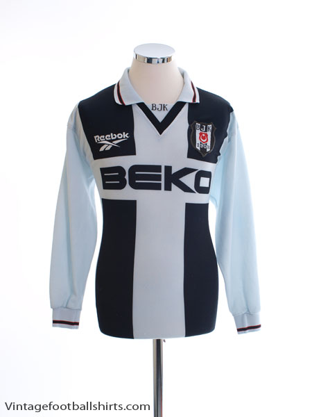 1998-99 Besiktas Away Shirt L/S L