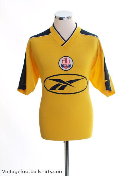 1998-99 Bolton Away Shirt M