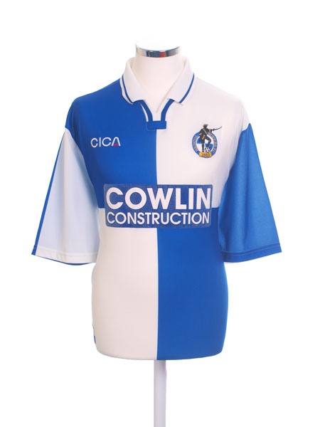 1998-99 Bristol Rovers Home Shirt XL