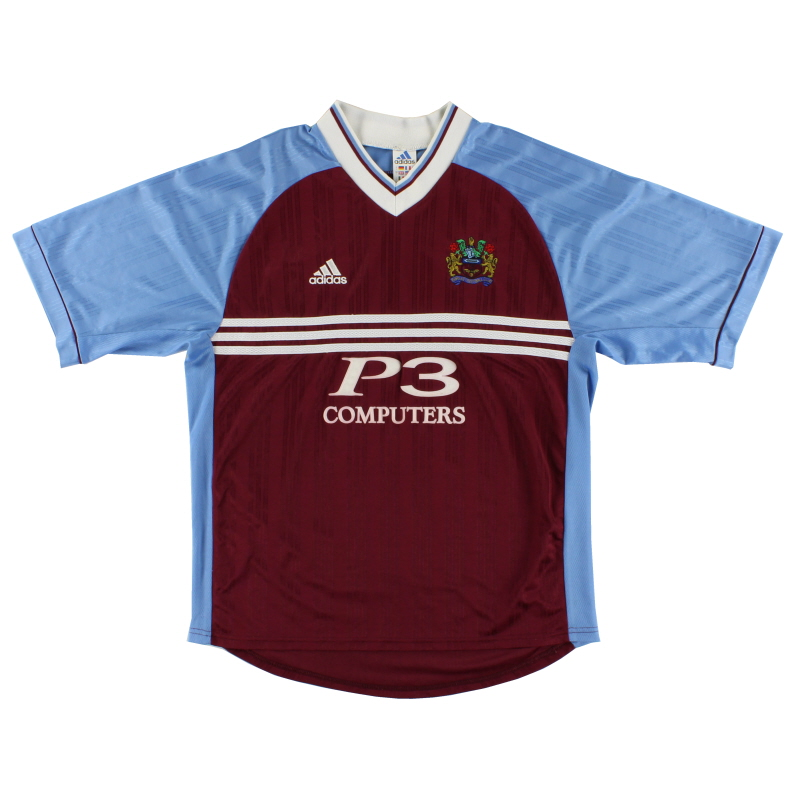 1998-99 Burnley Home Shirt L