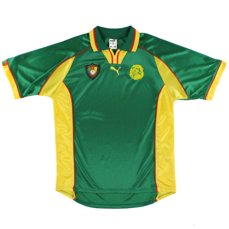 1998-99 Cameroon Home Shirt XL