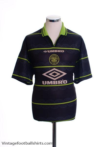 1998-99 Celtic Away Shirt XL