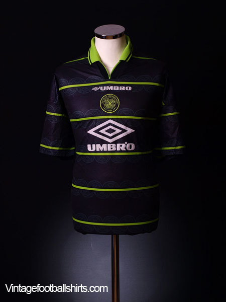 1998-99 Celtic Away Shirt XL