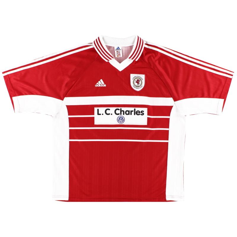1998-99 Crewe Alexandra Home Shirt XL