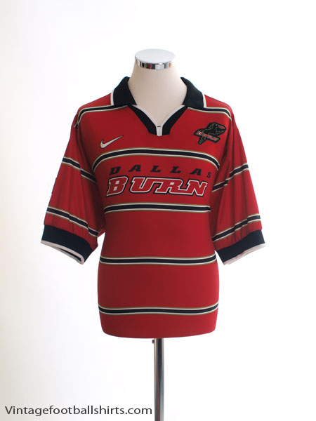 1998-99 Dallas Burn Home Shirt L