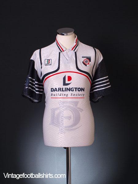 1998-99 Darlington Home Shirt L