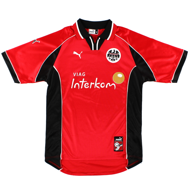1998 99 eintracht frankfurt home shirt m for sale. Black Bedroom Furniture Sets. Home Design Ideas