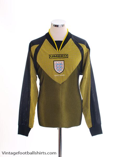 1998-99 England Goalkeeper Shirt Y