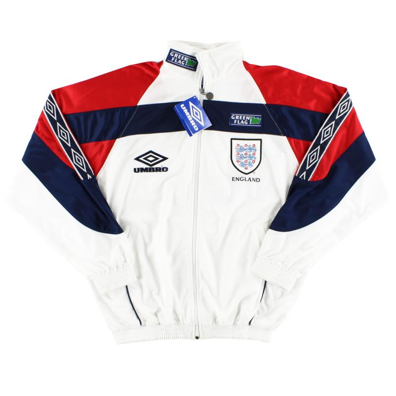 1998-99 England Umbro Track Jacket *w/tags* M - 743195