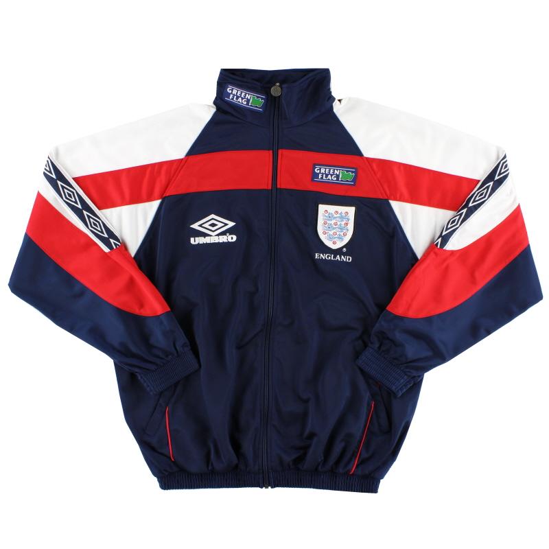 1998-99 England Umbro Track Jacket *As New* XL