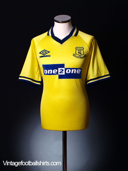1998-99 Everton Third Shirt XXL