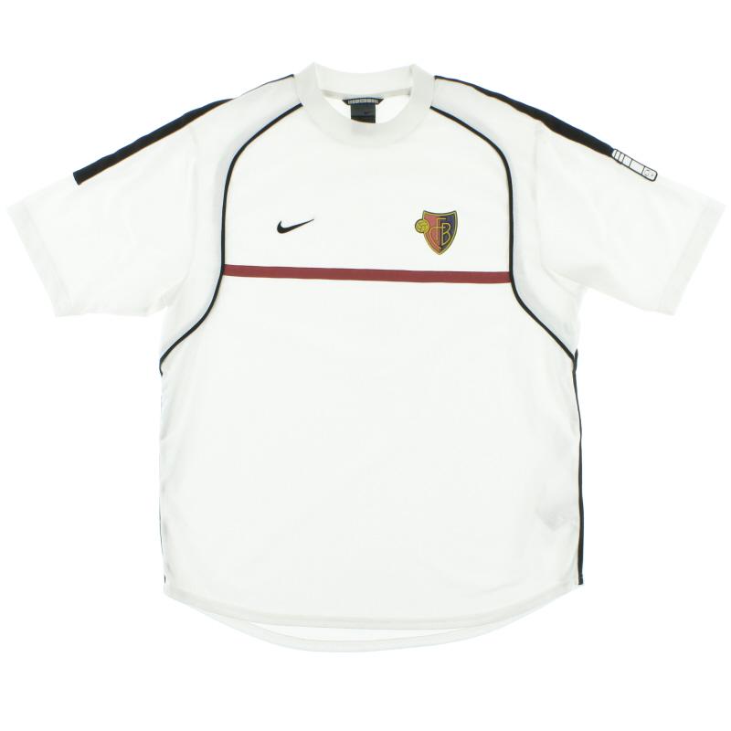 1998-99 FC Basel Nike Training Shirt L