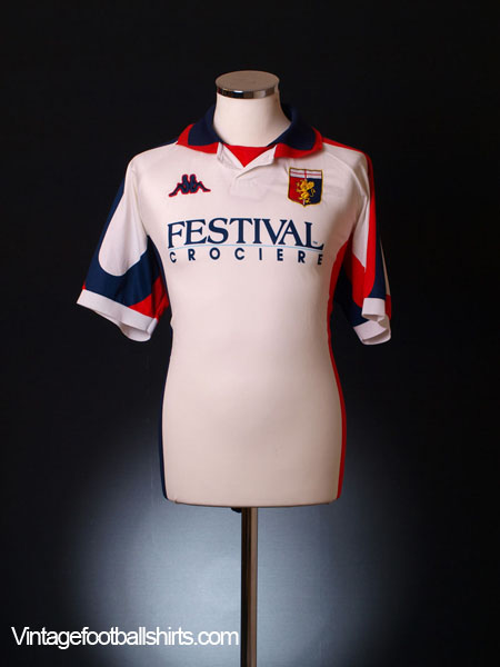 1998-99 Genoa Away Shirt L