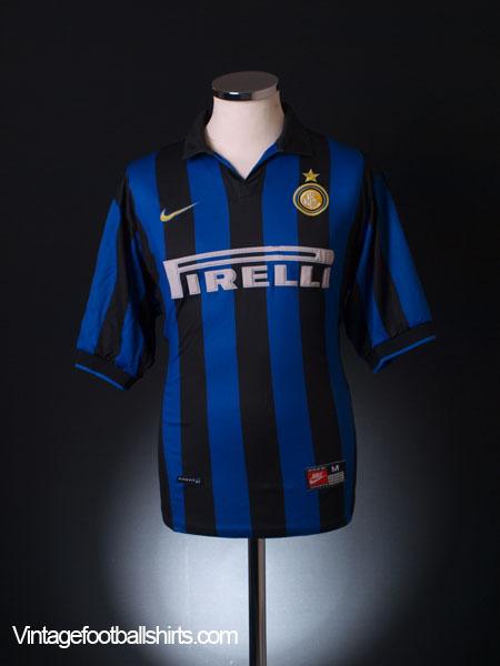 1998-99 Inter Milan Home Shirt L