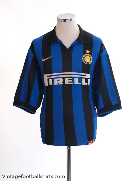 1998-99 Inter Milan Home Shirt XL