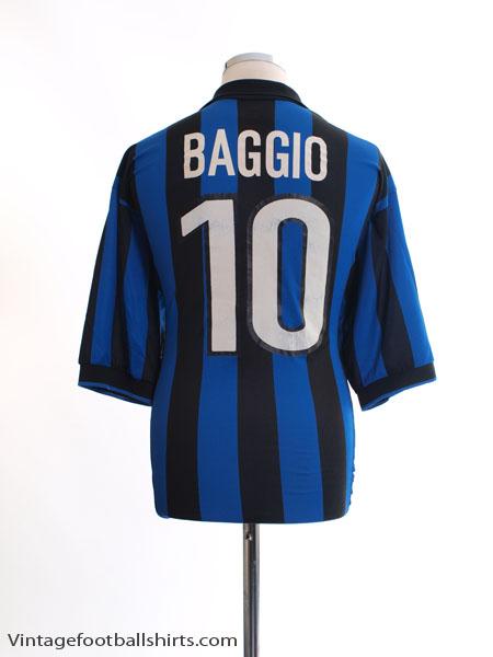 2dc211fa392 1998-99 Inter Milan Home Shirt Baggio  10 XL for sale