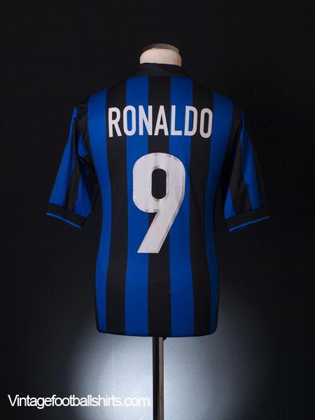 1998-99 Inter Milan Home Shirt Ronaldo  9 S for sale 716a2052c