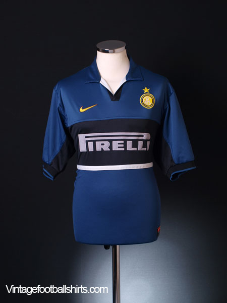 1998-99 Inter Milan Third Shirt L