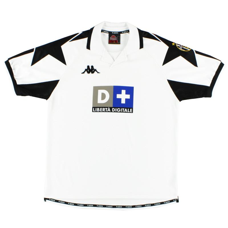 1998-99 Juventus Away Shirt L