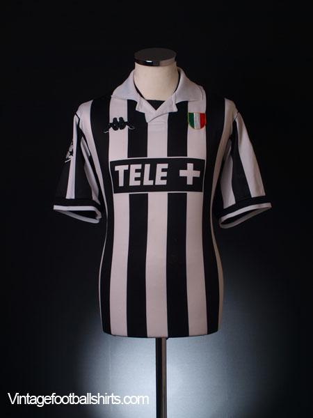 1998-99 Juventus Champions League Home Shirt M