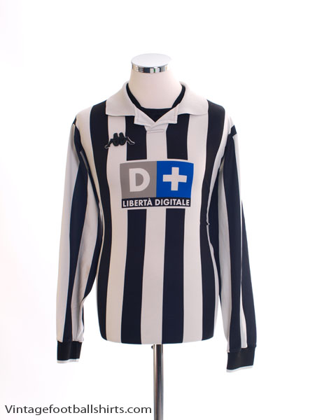 1998-99 Juventus Home Shirt L/S L