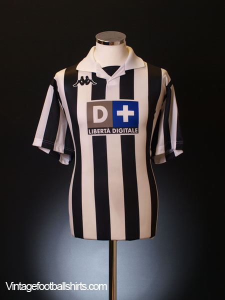 1998-99 Juventus Home Shirt L