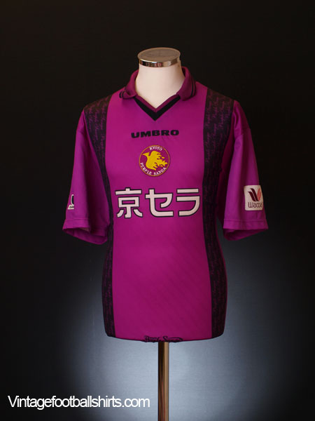 1998-99 Kyoto Purple Sanga Home Shirt XL