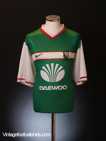 1998-99 Legia Warsaw Away Shirt XL