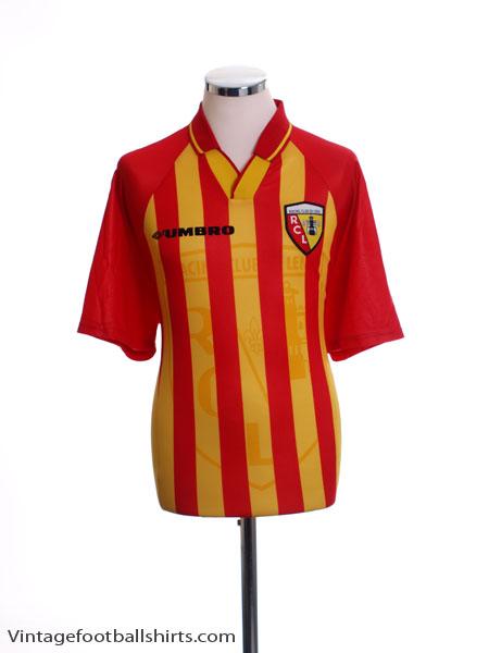 1998-99 Lens Home Shirt L