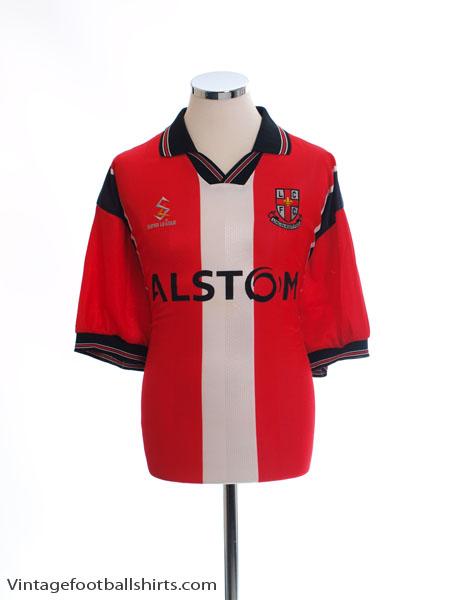 1998-99 Lincoln City Home Shirt XXL