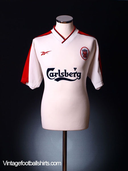 1998-99 Liverpool Away Shirt L