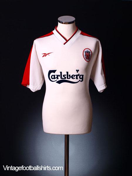 1998-99 Liverpool Away Shirt M