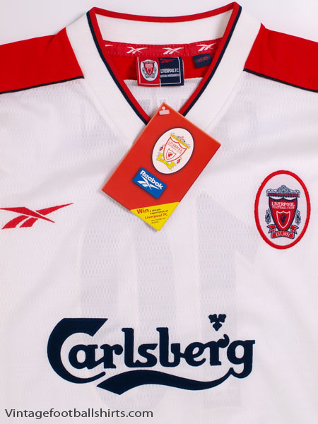 save off a94c7 d1eba 1998-99 Liverpool Away Shirt Owen #10 *BNWT* XL for sale
