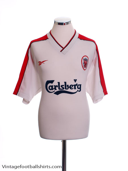 1998-99 Liverpool Away Shirt L - 407/981474/98/99