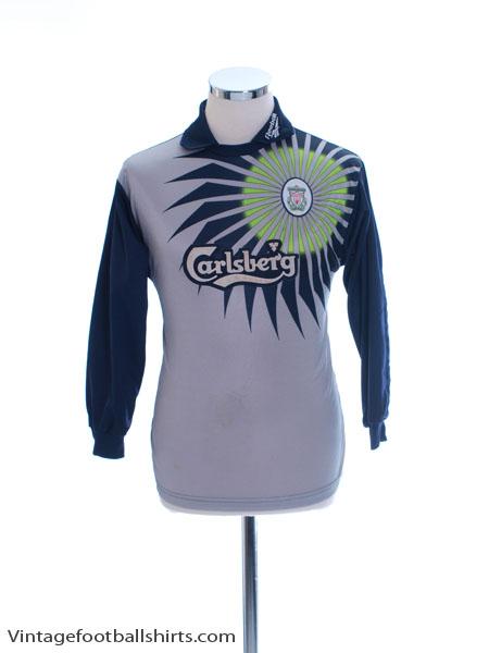 1998-99 Liverpool Goalkeeper Shirt Y