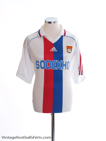 1998-99 Lyon Home Shirt L