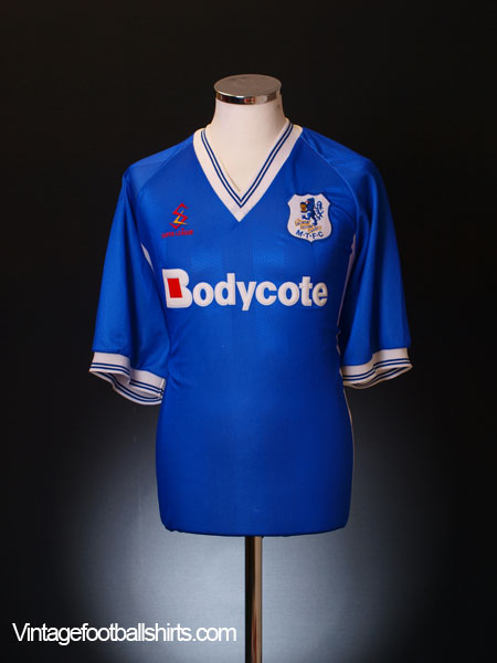 1998-99 Macclesfield Home Shirt XL