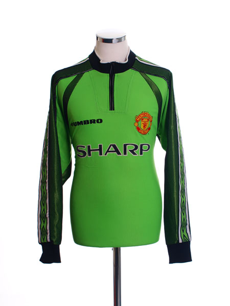 1998-99 Manchester United Goalkeeper Shirt Y