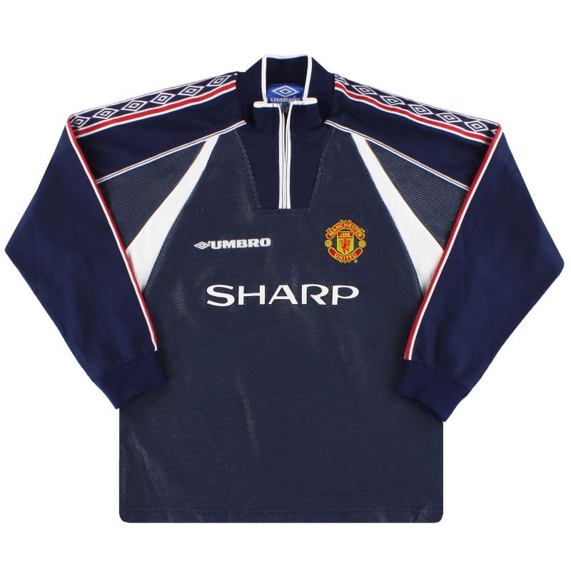 1998-99 Manchester United Umbro Goalkeeper Shirt Y