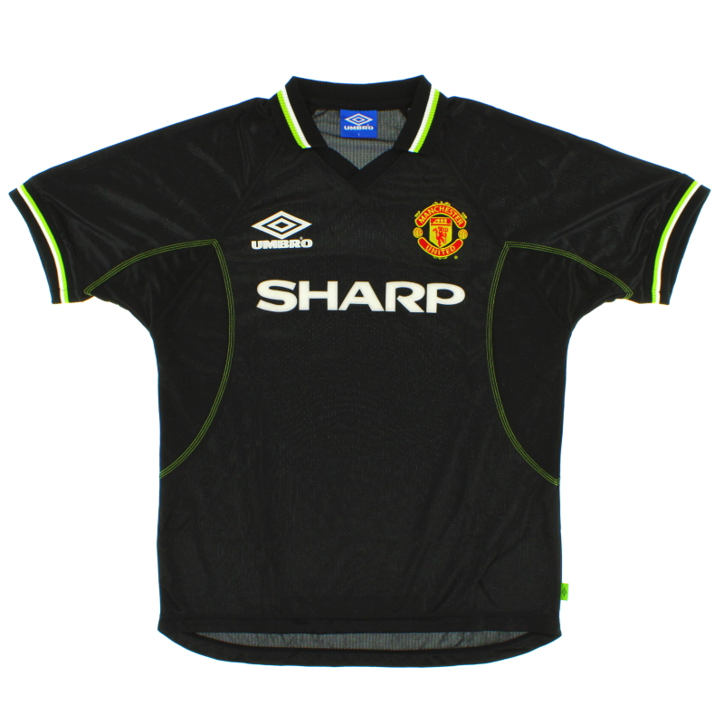 1998-99 Manchester United Third Shirt Y