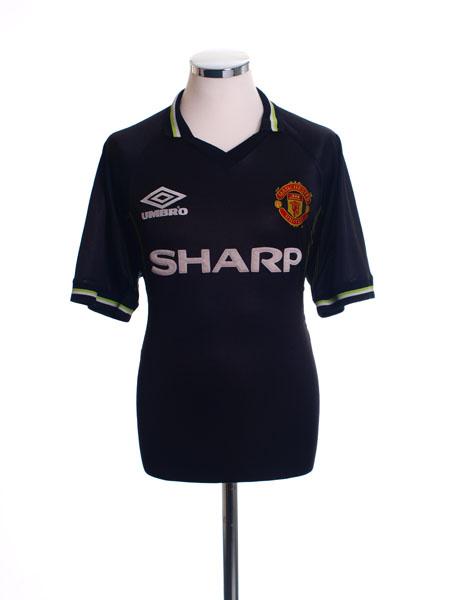 1998-99 Manchester United Third Shirt M