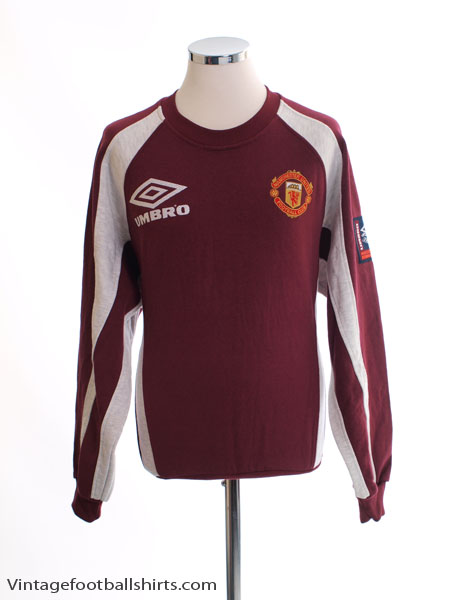 1998-99 Manchester United Training Jumper S